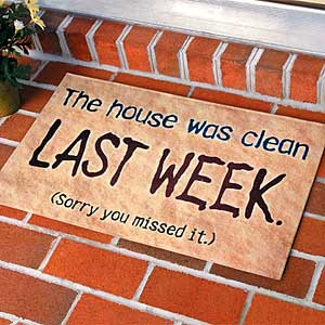 clean_house doormat