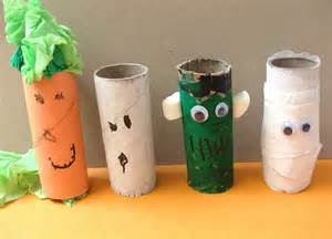 toilet paper roll craft Halloween